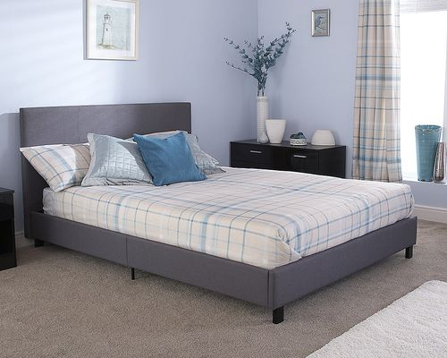 Bed In A Box Grey Fabric